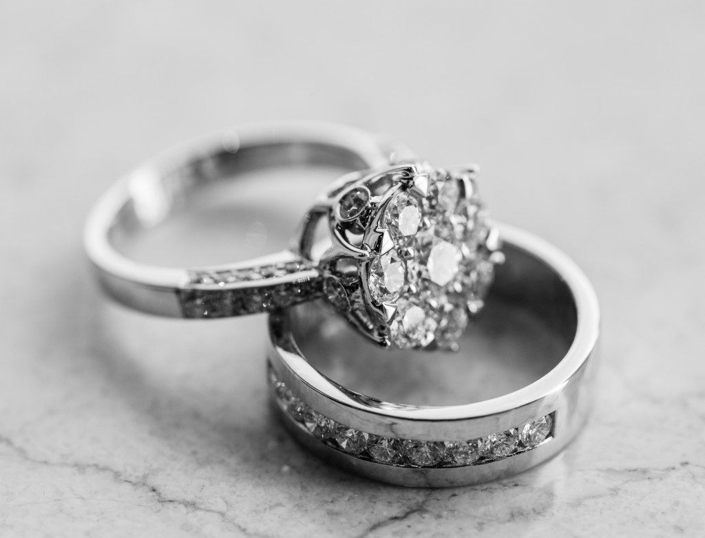 Wedding ring set