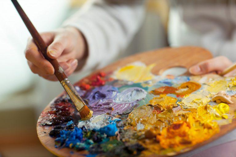 paint brush painting art