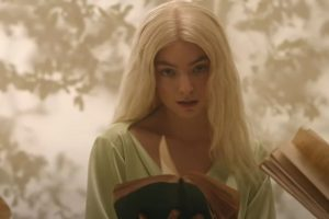 Screenshot from Lorde's Mood Ring music video